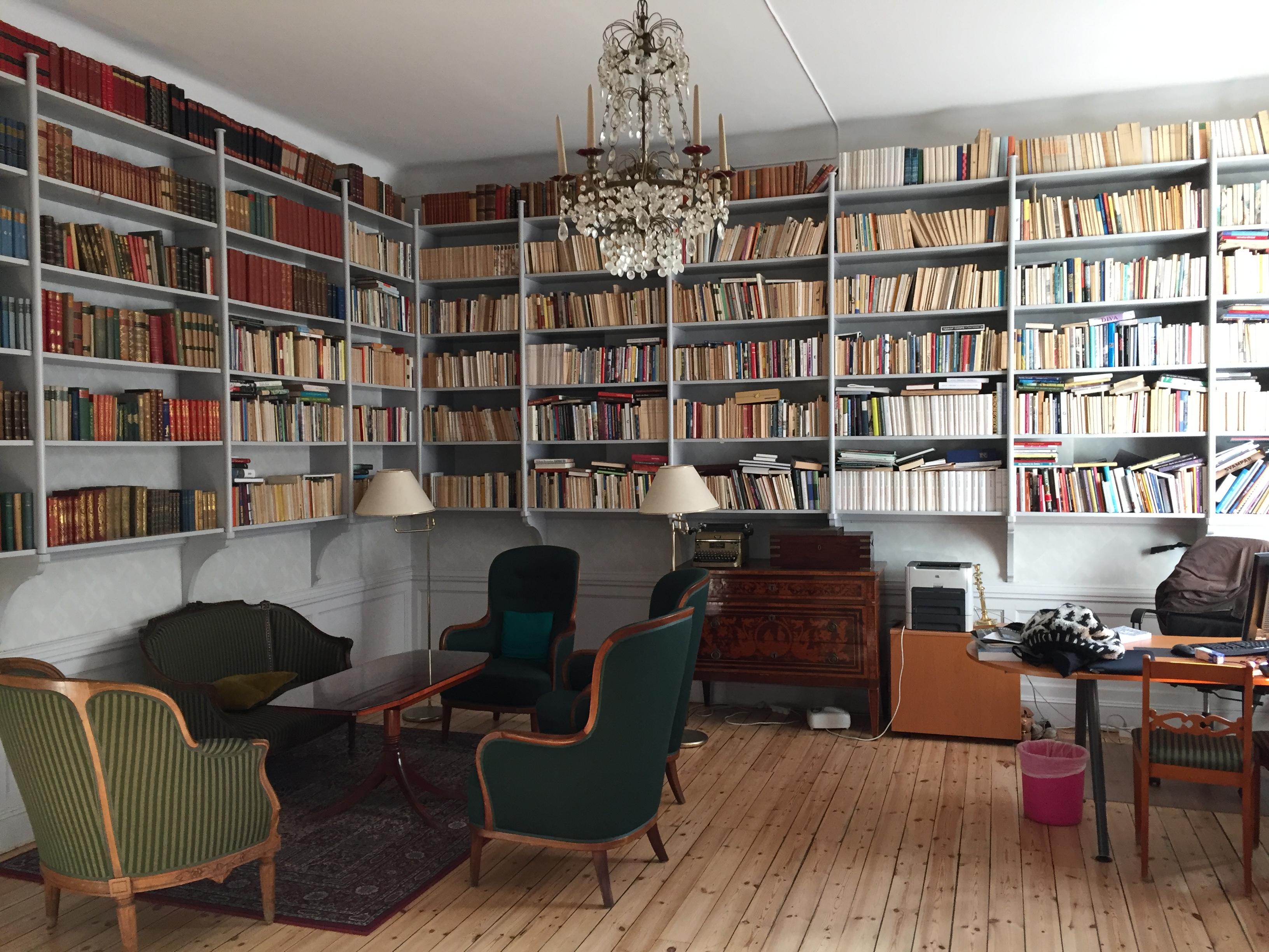 Svenska författarförbundets vackra lokaler.